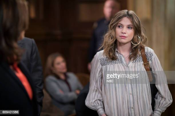 """Know It All"""" Episode 1814 -- Pictured: Megan Murphy as Laura Knowles --"""