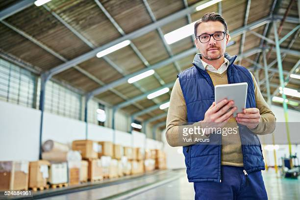 I know this warehouse like the back of my tablet