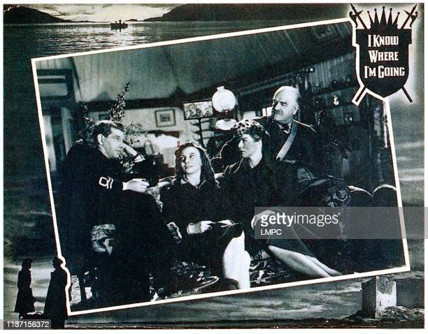 I Know Where I'm Going lobbycard Roger Livesey Pamela Brown Wendy Hiller CWR Knight 1945