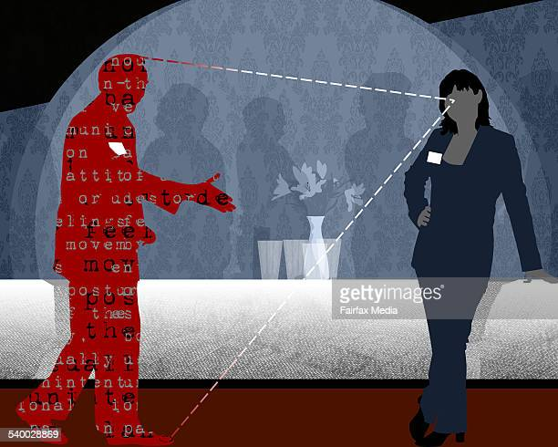 Knowing the signs for good networking in the workforce 12 April 2006 AFR PhotoIllustration by KARL HILZINGER Note This picture has been digitally...
