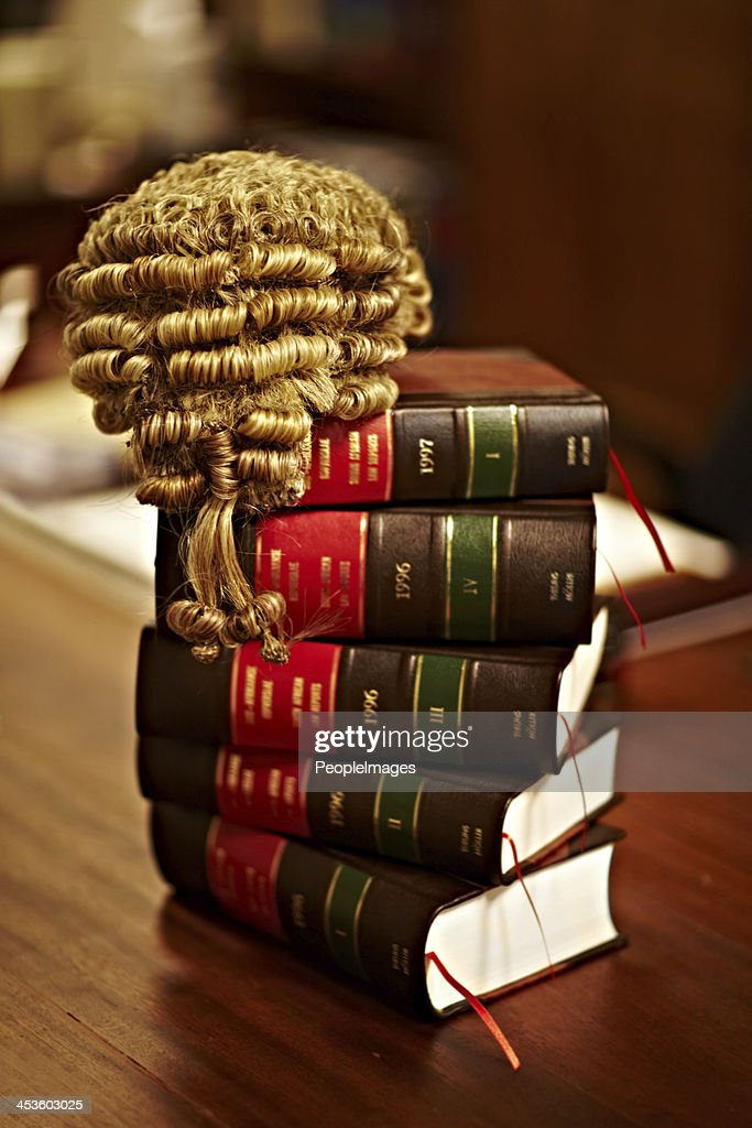Knowledge of the law is crucial for a fair trial : Stock Photo