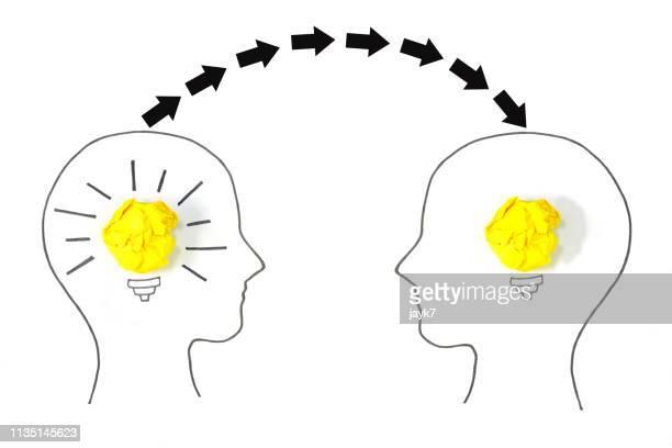 knowledge sharing - saggezza foto e immagini stock