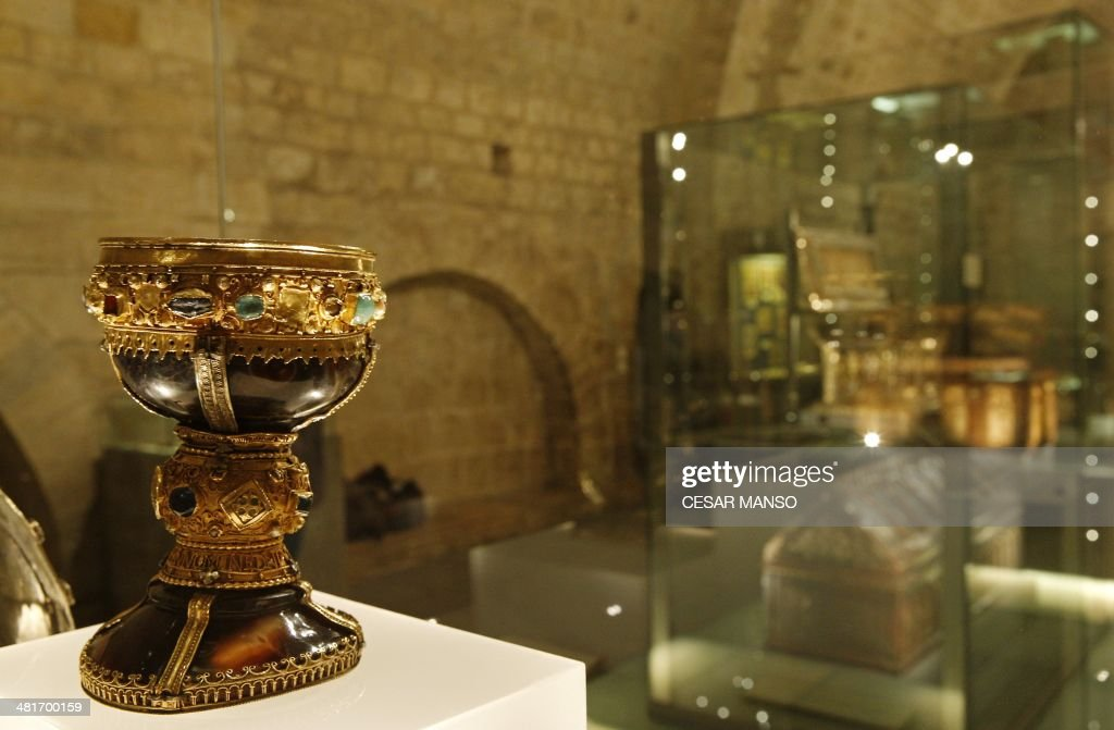 SPAIN-RELIGION-GRAIL : News Photo