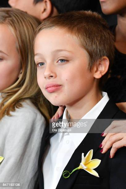 Knox Leon JoliePitt attends the First They Killed My Father New York premiere at DGA Theater on September 14 2017 in New York City