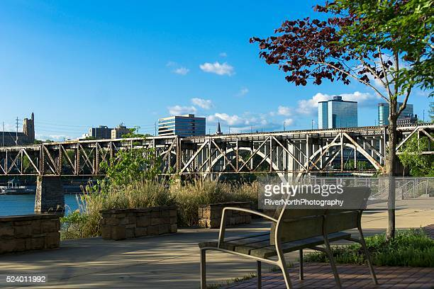 Knoxville Riverwalk and Skyline
