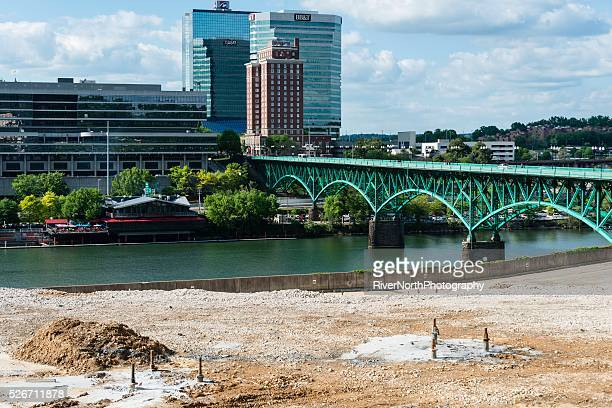 Knoxville Skyline and Henley Bridge