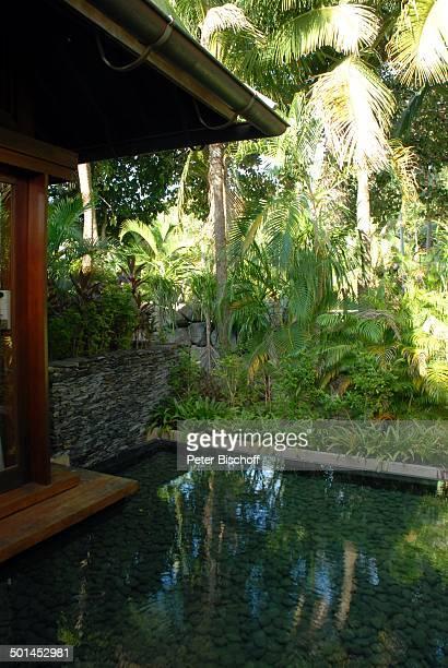 Künstlich angelegter Wassergraben Garten Strandvilla 5SterneLuxushotel Four Seasons Insel Langkawi Malaysia Asien aussen Hotel Reise NB DIG PNr...
