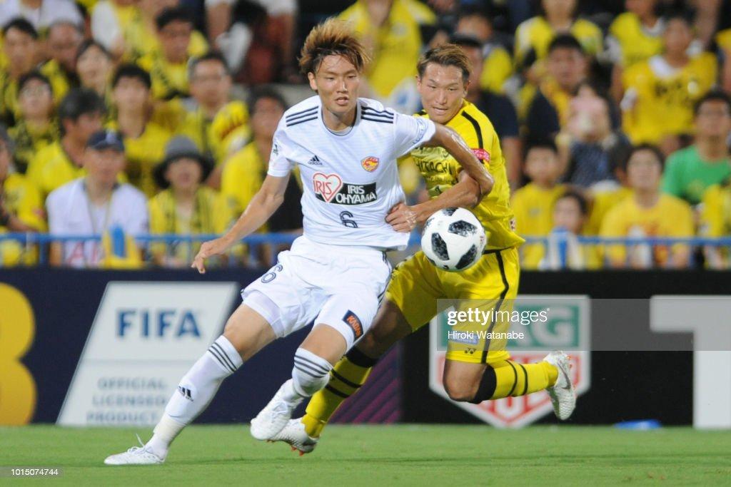 Kashiwa Reysol v Velgata Sendai - J.League J1 : ニュース写真