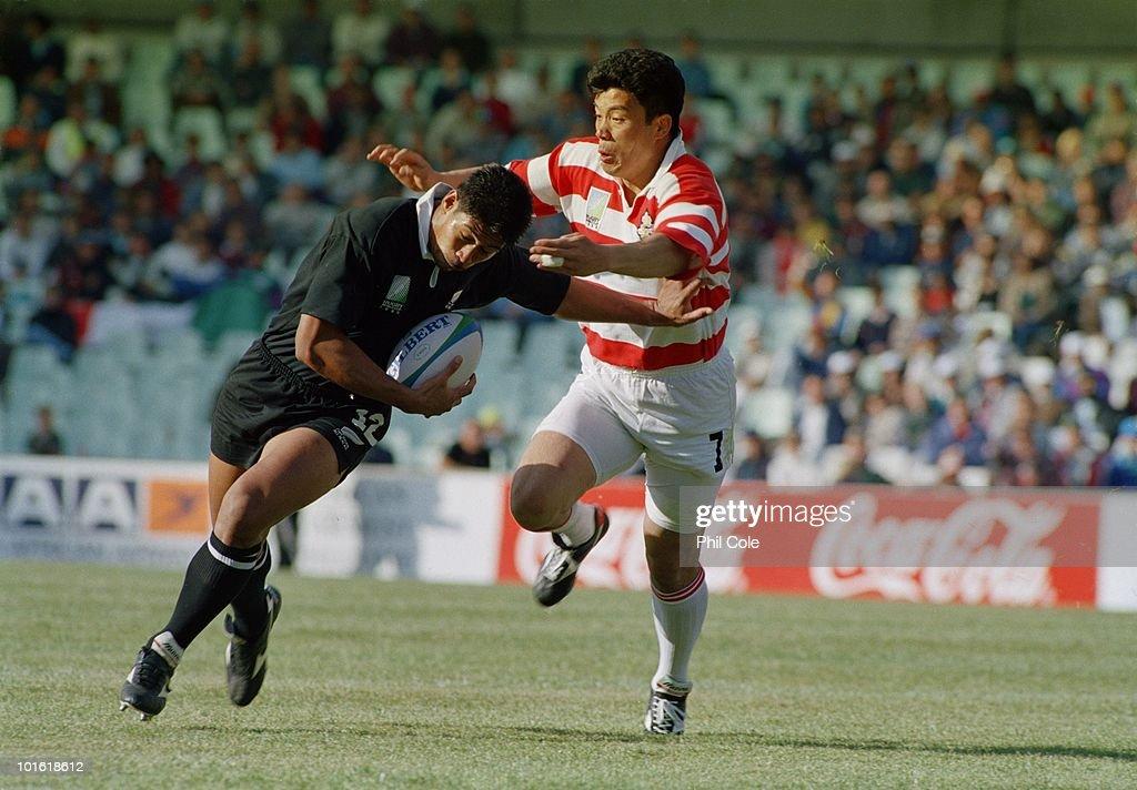 Japan vs New Zealand : News Photo