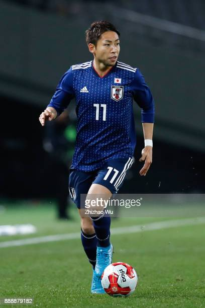Kobayashi Yu of Japan in action during the EAFF E1 Men's Football Championship between Japan and North Korea at Ajinomoto Stadium on December 9 2017...