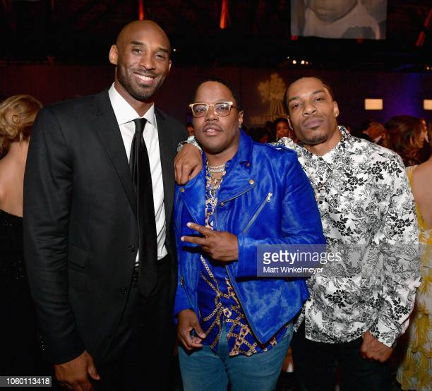 Kobe Bryant and Mase attend the 2018 Baby2Baby Gala Presented by Paul Mitchell at 3LABS on November 10 2018 in Culver City California