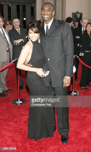Kobe Bryant and wife Vanessa during 32nd Annual American Music Awards - Arrivals at Shrine Auditorium in Los Angeles, California, United States.