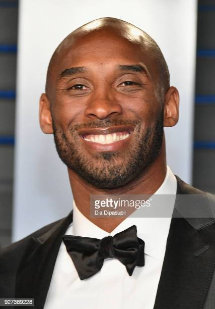 Kobe Bryant attends the 2018 Vanity Fair Oscar Party hosted by Radhika Jones at Wallis Annenberg Center for the Performing Arts on March 4 2018 in...
