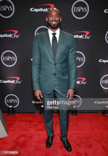 Kobe Bryant attends The 2019 ESPYs at Microsoft Theater on July 10 2019 in Los Angeles California