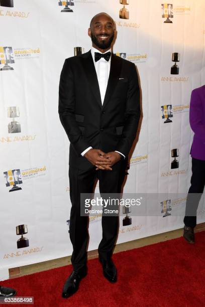 Kobe Bryant attends the 44th Annual Annie Awards at Royce Hall on February 4 2017 in Los Angeles California