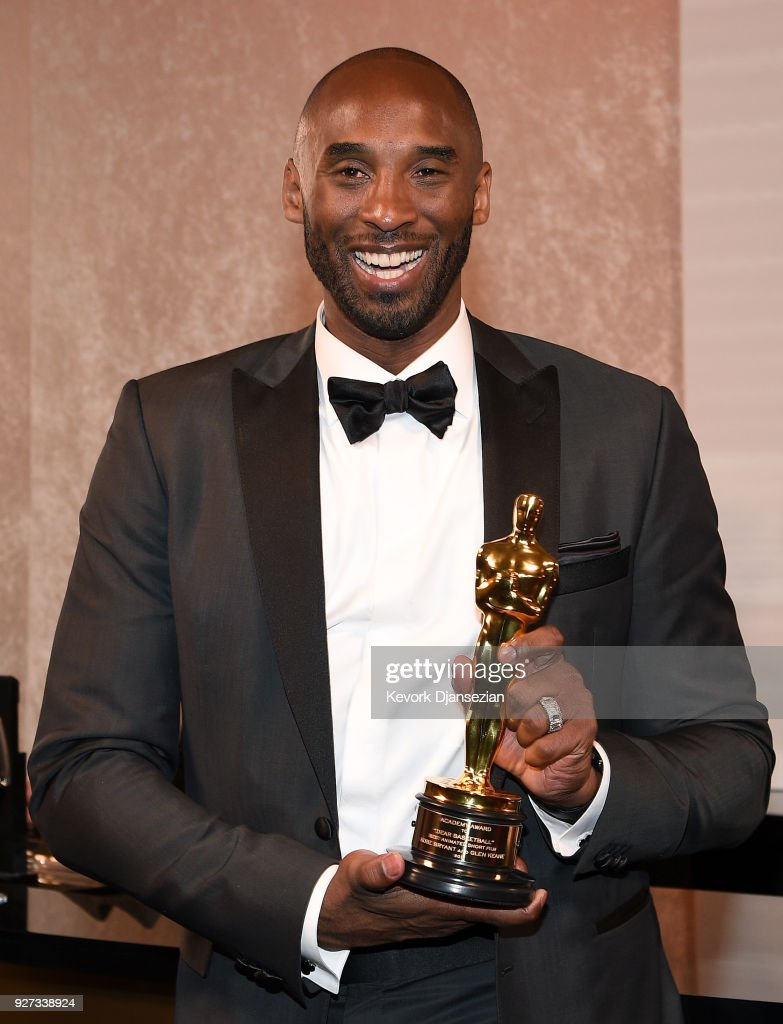 Kobe Bryant attends the 90th Annual Academy Awards Governors Ball at Hollywood & Highland Center on March 4, 2018 in Hollywood, California.