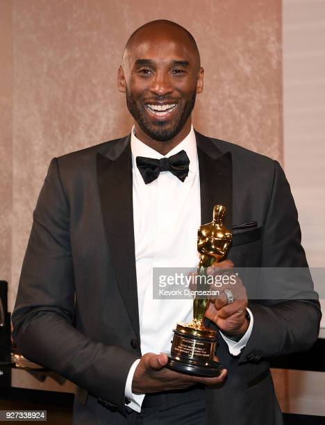 Kobe Bryant attends the 90th Annual Academy Awards Governors Ball at Hollywood Highland Center on March 4 2018 in Hollywood California