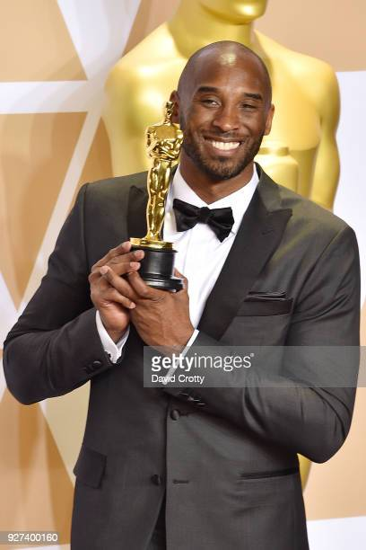 Kobe Bryant attends the 90th Annual Academy Awards Press Room on March 4 2018 in Hollywood California
