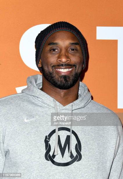 Kobe Bryant attends the LA Community Screening of Warner Bros Pictures' Just Mercy at Cinemark Baldwin Hills on January 06 2020 in Los Angeles...