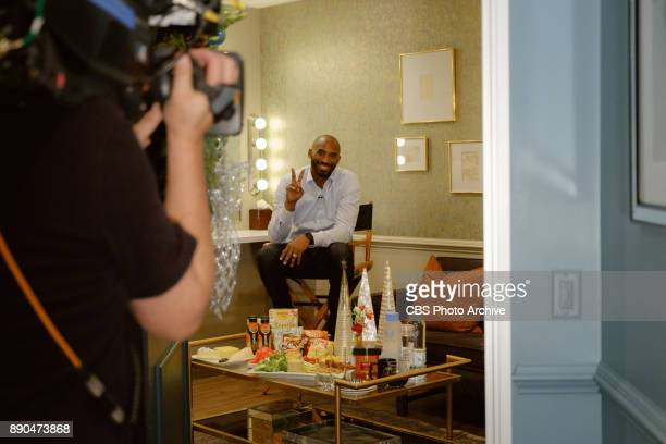 Kobe Bryant checks in from the green room with James Corden during 'The Late Late Show with James Corden' Wednesday December 6 2017 On The CBS...