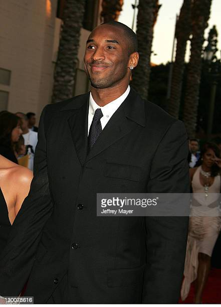 Kobe Bryant during 32nd Annual American Music Awards Arrivals at Shrine Auditorium in Los Angeles California United States