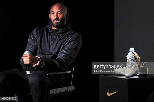 Kobe Bryant hosts a Kobe A.D. Event at MAMA Gallery on November 1, 2016 in Los Angeles, California.