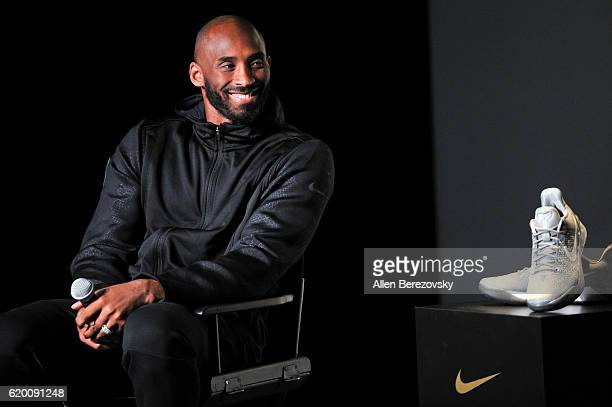 Kobe Bryant hosts a Kobe AD event at MAMA Gallery on November 1 2016 in Los Angeles California