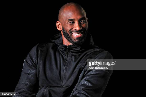 Kobe Bryant hosts a Kobe AD event at MAMA Gallery on November 1 2016 in Los Angeles California