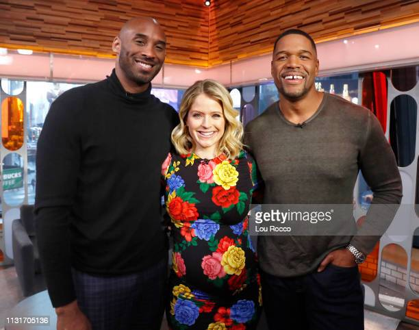 Kobe Bryant is a guest on 'Strahan Sara' on Wednesday March 20 2019 'GMA Strahan Sara' airs MondayFriday on the ABC Television Network GMASS19 KOBE