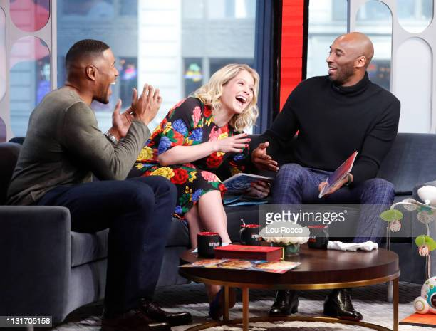Kobe Bryant is a guest on 'Strahan Sara' on Wednesday March 20 2019 'GMA Strahan Sara' airs MondayFriday on the ABC Television Network GMASS19 MICHAEL