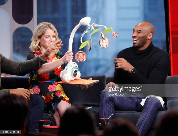 Kobe Bryant is a guest on 'Strahan Sara' on Wednesday March 20 2019 'GMA Strahan Sara' airs MondayFriday on the ABC Television Network GMASS19 SARA