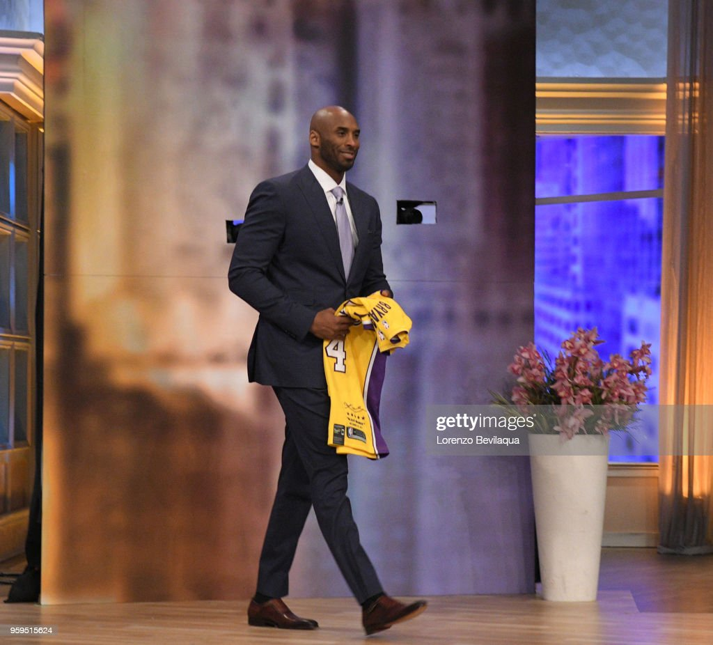 THE VIEW - Kobe Bryant is the surprise guest on Wednesday, 5/16/18. 'The View' airs Monday-Friday (11:00 am-12:00 pm, ET) on the ABC Television Network. BRYANT