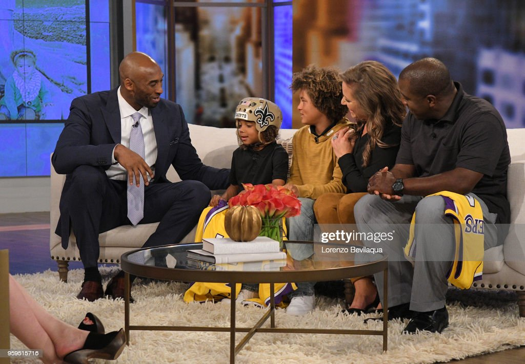 THE VIEW - Kobe Bryant is the surprise guest on Wednesday, 5/16/18. 'The View' airs Monday-Friday (11:00 am-12:00 pm, ET) on the ABC Television Network. FAMILY