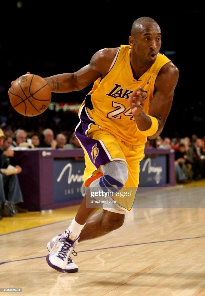New York Knicks v Los Angeles Lakers : Nachrichtenfoto