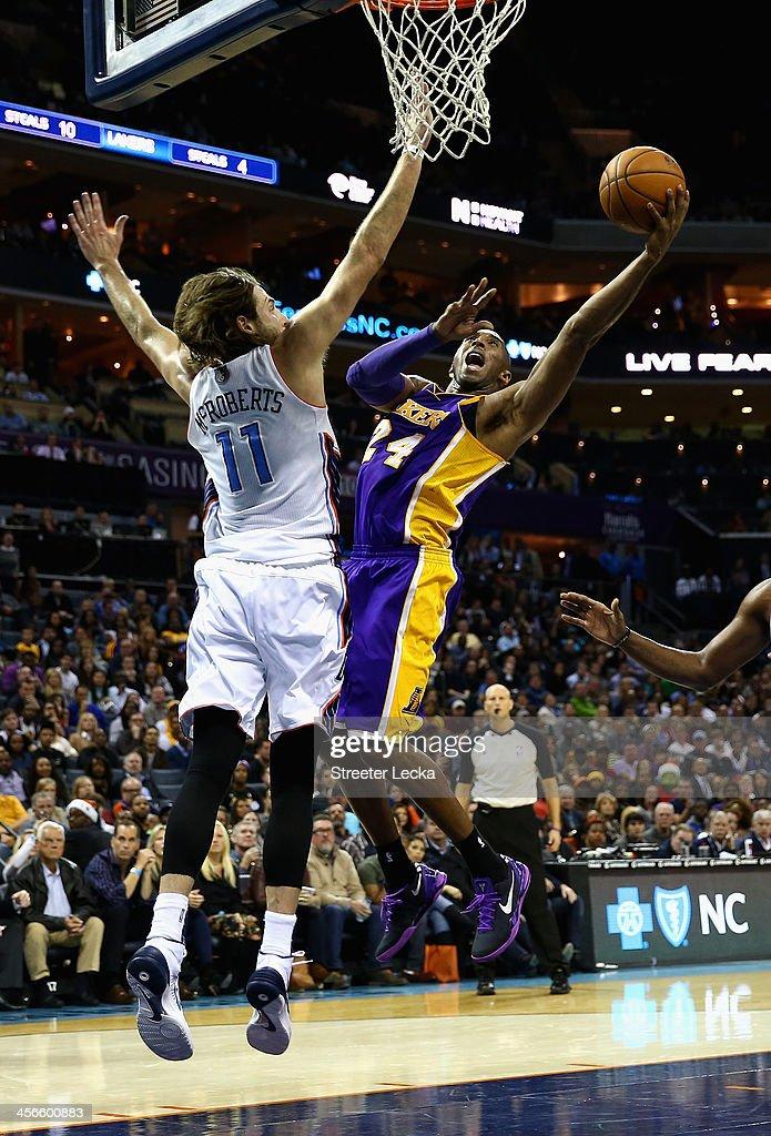 Los Angeles Lakers v Charlotte Bobcats