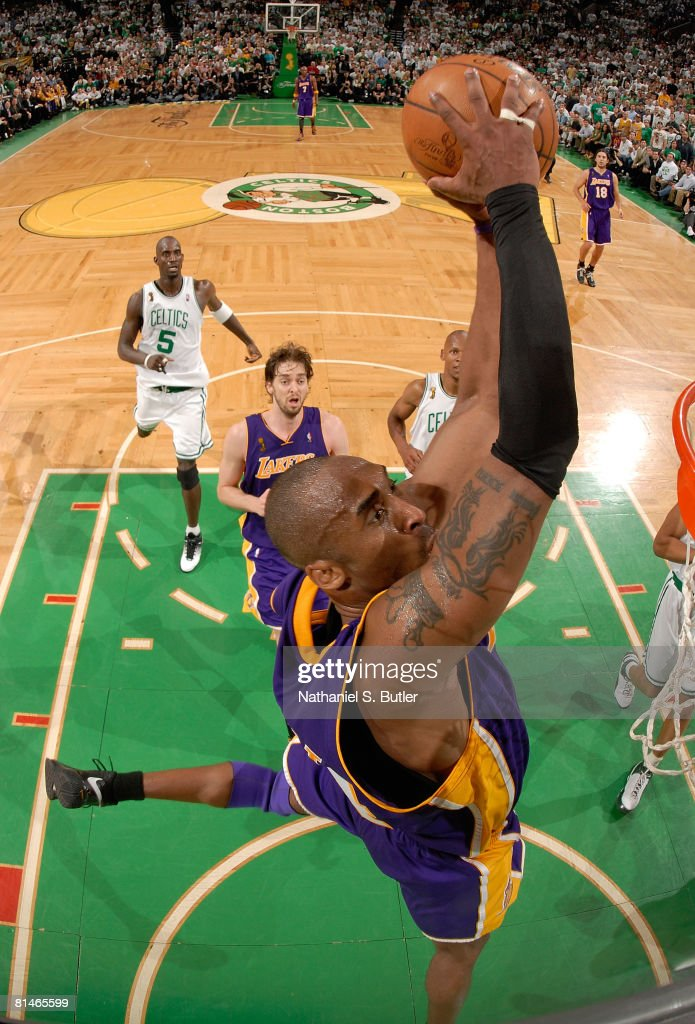 NBA Finals Game 1: Los Angeles Lakers v Boston Celtics : News Photo