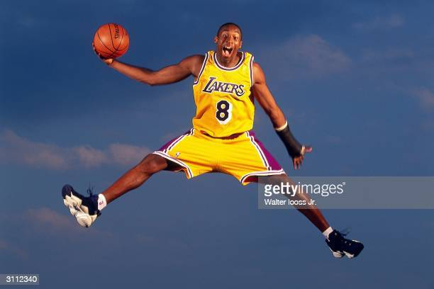 Kobe Bryant of the Los Angeles Lakers during an August 1997 photo shoot in Florida NOTE TO USER User expressly acknowledges and agrees that by...