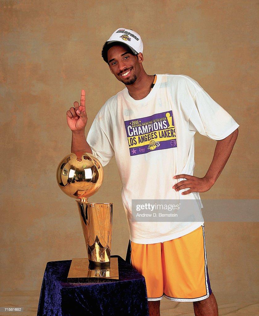 2000 NBA Finals Portraits: Los Angeles Lakers : News Photo
