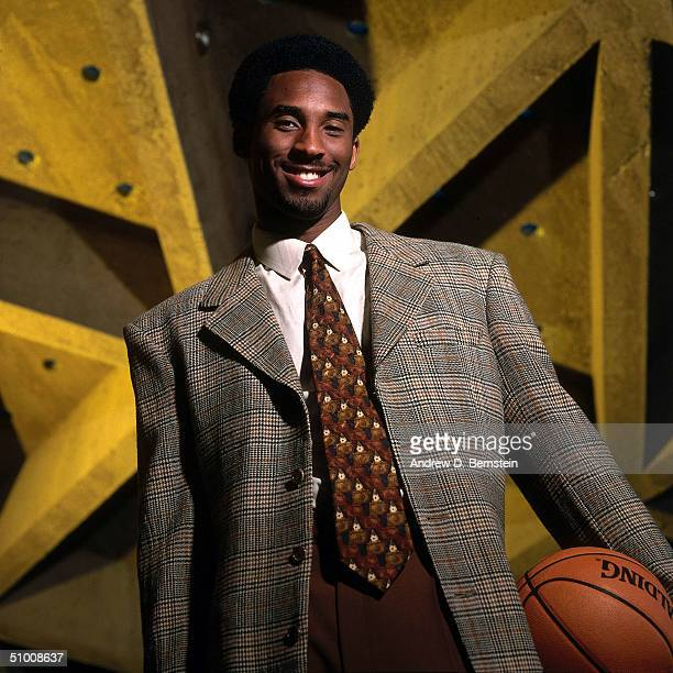 Kobe Bryant of the Los Angeles Lakers poses for a photo circa 2000 in Los Angeles California NOTE TO USER User expressly acknowledges and agrees that...