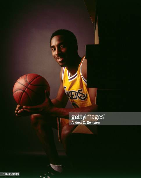 Kobe Bryant of the Los Angeles Lakers poses for a photo shoot circa 2003 NOTE TO USER User expressly acknowledges and agrees that by downloading and...