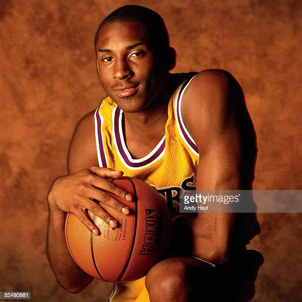Kobe Bryant of the Los Angeles Lakers poses for a portrait on September 1 1997 in Florida NOTE TO USER User expressly acknowledges and agrees that by...