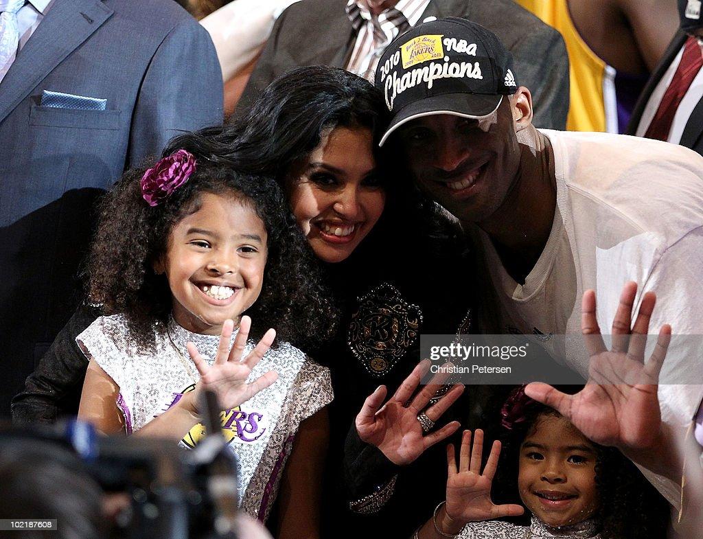 NBA Finals Game 7:  Boston Celtics v Los Angeles Lakers : News Photo