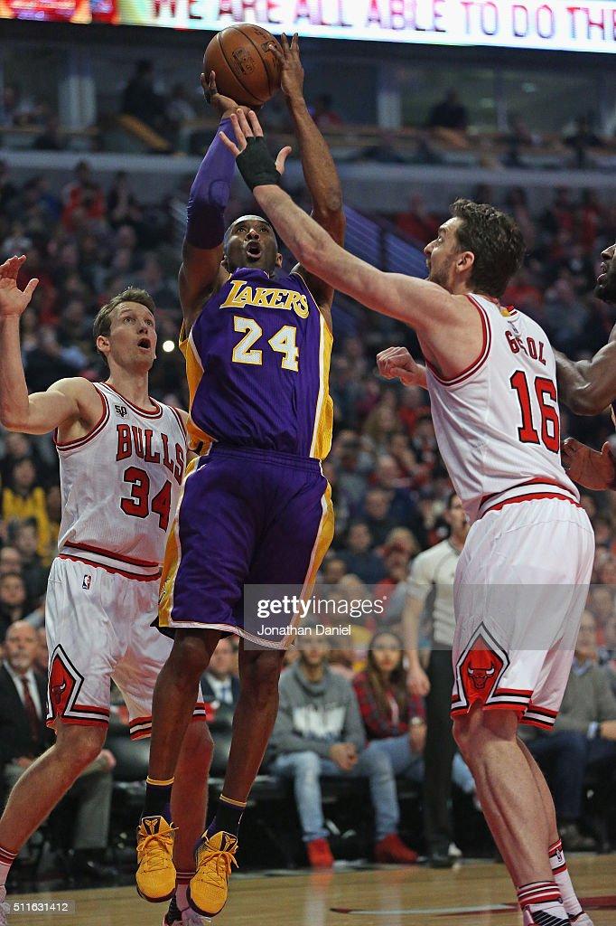 Los Angeles Lakers v Chicago Bulls : News Photo