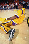 Kobe bryant of the los angeles lakers warms up before a game circa picture id951157448?s=170x170
