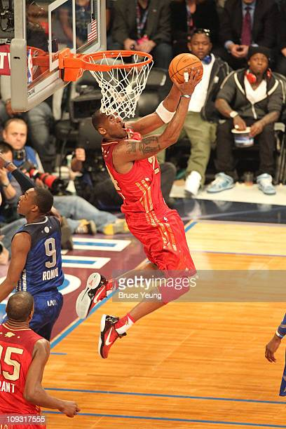 Kobe Bryant of the Western Conference AllStars during the 2011 NBA AllStar Game at Staples Center on February 20 2011 in Los Angeles California NOTE...