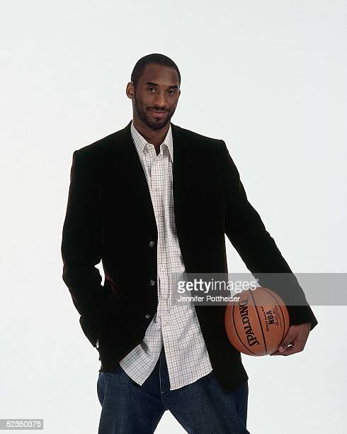 Kobe Bryant poses for a photo during the 2005 NBA AllStar Media Availability portrait session on February 18 2005 at The Westin Hotel in Dever...