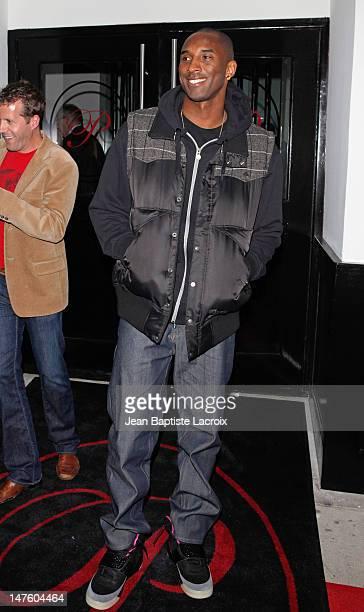 Kobe Bryant sighting in West Hollywood on October 12 2009 in Los Angeles California