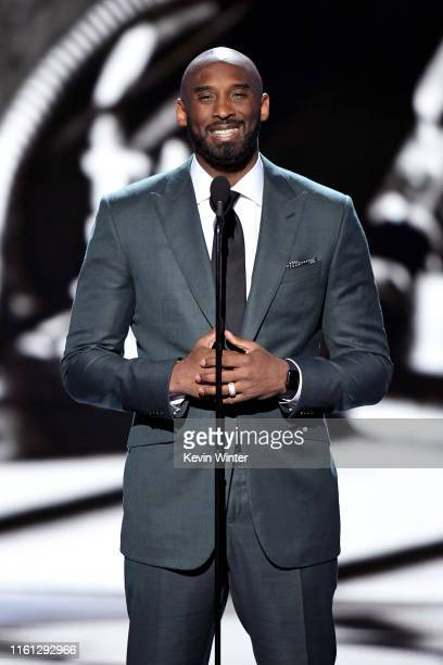 Kobe Bryant speaks onstage during The 2019 ESPYs at Microsoft Theater on July 10, 2019 in Los Angeles, California.