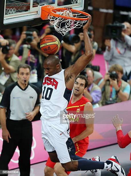 Kobe Bryant USA Basketball Final Finale USA - Spanien USA Spain Olympische Sommerspiele in London 2012 Olympia olympic summer games london 2012