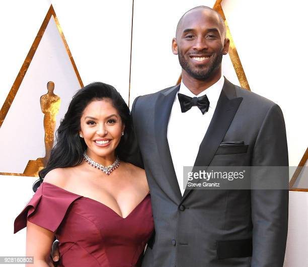 Kobe Bryant Vanessa Laine Bryant arrives at the 90th Annual Academy Awards at Hollywood Highland Center on March 4 2018 in Hollywood California